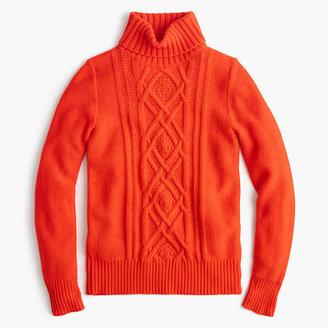 Cambridge cable turtleneck sweater $98 thestylecure.com