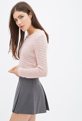 Forever 21 Easy Cropped Sweater