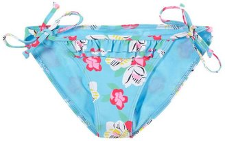 aerie Floral Tied Bikini Bottom