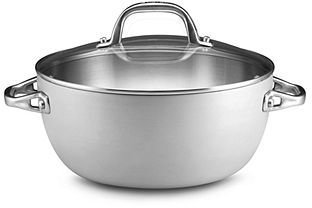 Anolon Chef Clad 5.5 Qt. Covered Casserole