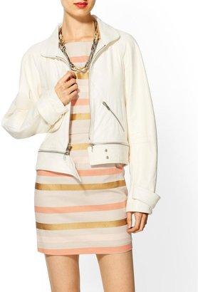 Rebecca Minkoff Stone Bomber Jacket