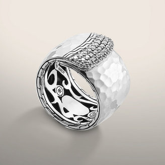 John Hardy PALU COLLECTION Wide Overlap Band Ring