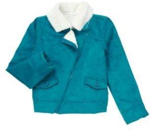 Crazy 8 Faux Shearling Zip Jacket