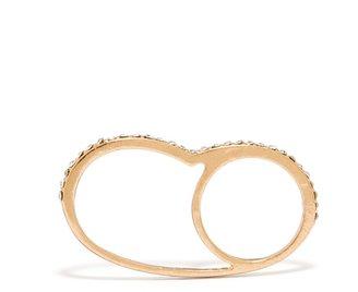 BaubleBar Crystal Figure Eight Ring