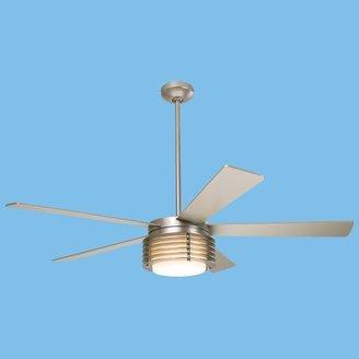 Modern Fan Pharos Nickel Fan