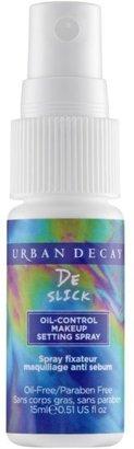 Urban Decay Cosmetics De-Slick Oil Control Makeup Travel Size Setting Spray