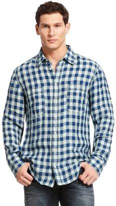 HUGO BOSS 'CalifoE' | Regular Fit, Linen Casual Shirt by BOSS Orange