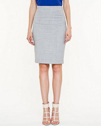 Le Château Stretch Wool Blend High Waist Pencil Skirt