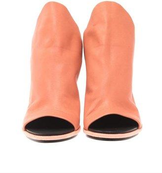 Balenciaga Glove leather slingback sandals