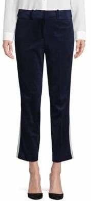 Tommy Hilfiger Cropped Velvet Pants
