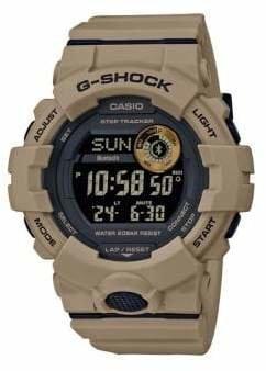 Casio Step Trackers G-Shock Digital Strap Watch