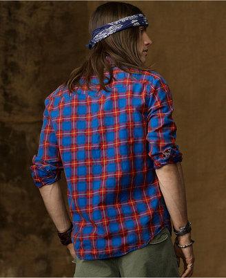 Denim & Supply Ralph Lauren Shirt, Long Sleeve Cowboy Western Shirt