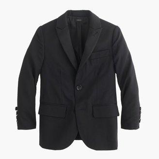 Boys' Ludlow peak-lapel tuxedo jacket in Italian wool $245 thestylecure.com
