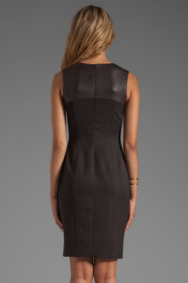 Jay Godfrey Strachan Jacquard Sheath Dress