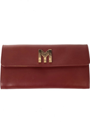 MySuelly My Suelly Clasped Leather Wallet