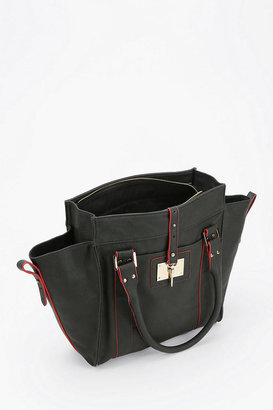 Urban Outfitters Deena & Ozzy Vegan Leather Winged Tote Bag