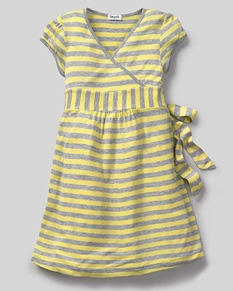 Splendid Littles Toddler Girls' Rayon Stripe Crossover Dress