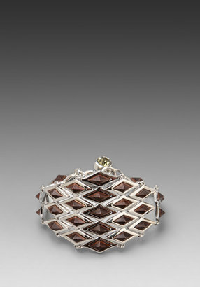 Marc by Marc Jacobs Articulated Zebra Blixen Bracelet