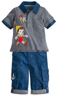 Disney Pinocchio Polo and Pants Set for Baby