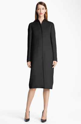 Jil Sander Long Bonded Wool Coat