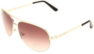 Juicy Couture Women's Platinum/S Aviator Sunglasses
