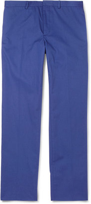 Paul Smith Straight-Leg Cotton Trousers