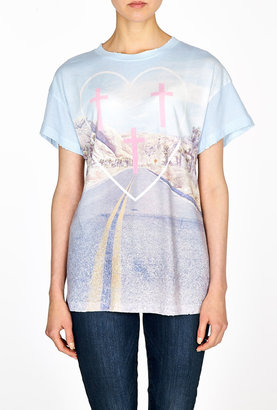 Wildfox Couture Pioneer Town Oversized T-shirt