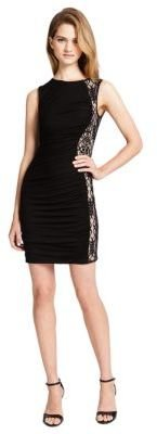 Cynthia Steffe CECE BY Gigi Lace Inset Dress