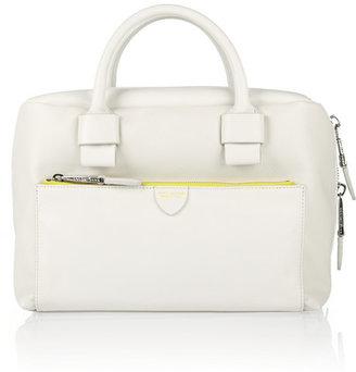 Marc Jacobs Antonia textured-leather bowling bag