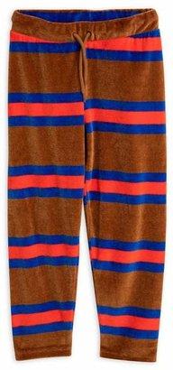 Mini Rodini Velour Stripe Trousers 2-8 Years