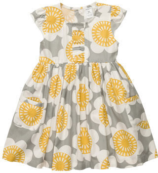 Carter's Flutter-Sleeve Twill Print Dress