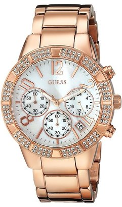 GUESS U0141L3 Stainless-Steel Quartz Watch