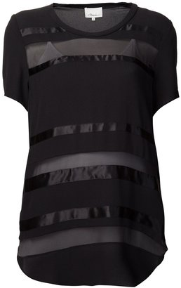 3.1 Phillip Lim banded striped t-shirt