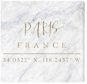 Paris Coordinates
