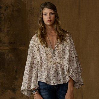 Denim & Supply Ralph Lauren Cotton Bell-Sleeved Boho Top