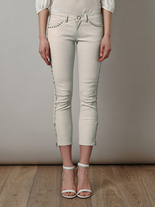 Isabel Marant Dobson studded leather trousers