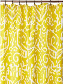 Trina Turk Ikat Shower Curtain