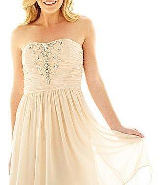 Marchesa Pearl Georgina Chapman of High-Low Dress