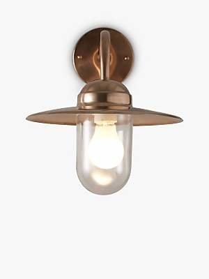 Nordlux Luxembourg Outdoor Wall Light, Copper