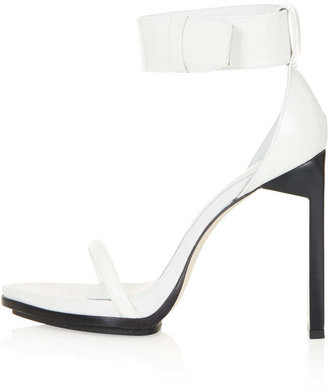 Topshop UNIQUE Hi Strappy Sandals