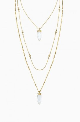 Aria Pendant Necklace - Gold $98 thestylecure.com