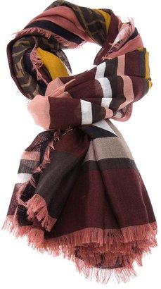 Fendi print scarf