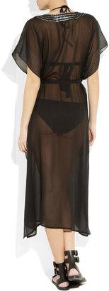 Tara Matthews Sole silk-chiffon dress