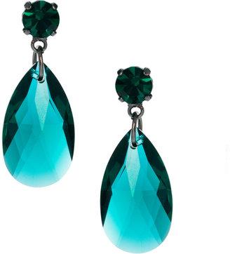Swarovski Krystal Pear Drop Earrings