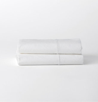 Washed Percale Pillowcases Set of 2 - White