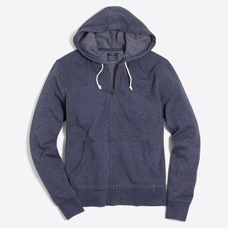 J.Crew Lightweight fleece full-zip hoodie