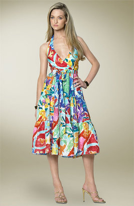 Lauren Ralph Lauren Lauren by Ralph Lauren Floral Silk Dress