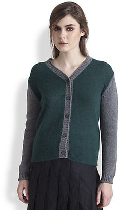 Marni Alpaca-Blend Colorblock Cardigan