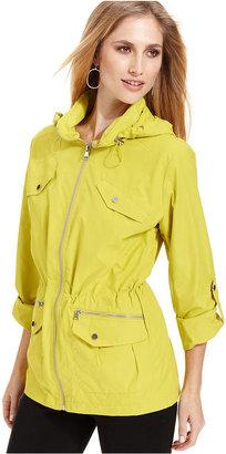 Style&Co. Sport Jacket, Hooded Anorak