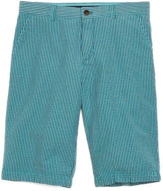 Brooks Brothers Plain-Front Seersucker Shorts